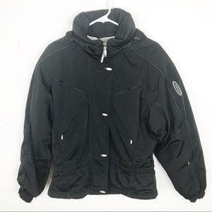 Descente Jackets & Coats - Descente Black Ski Jacket - Vintage